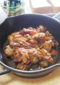 玉ねぎ甘い☆鶏のチリ&カレー