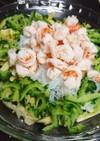 ゴーヤ・春雨・エビのエスニック風サラダ