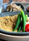 脂肪燃焼スープ活用アーモンドミルクカレー