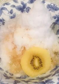 カキ氷のシロップ(みぞれ)
