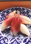綺麗なピンク色ミョウガ甘酢 すし酢で簡単