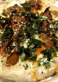 簡単!餃子の皮で野菜も取れる節約ピザ♪