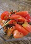 簡単 小鉢!トマトの塩昆布和え