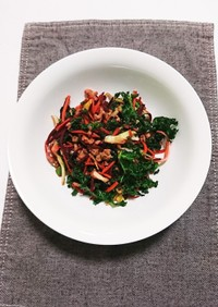 カット野菜ミックスの簡単炒めもの 2