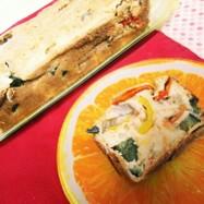 イタリアン!夏野菜のケークサレ♪