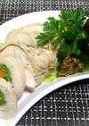 彩り野菜のチキンロール