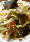 五目(肉)野菜炒め♪