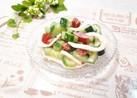 塩丸いかときゅうり&トマトのマヨサラダ♪