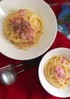 <子どもレシピ>カルボナーラ