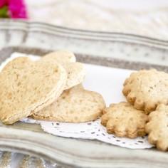 米粉のメープルクッキー♡