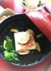 豆腐とワカメの秋味のお吸い物