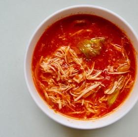 ヘルシー鶏スープ(トマト)