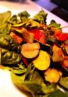 ズッキーニとパプリカの味噌マヨサラダ