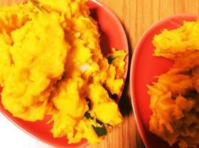 ゆで卵とチーズのかぼちゃサラダ