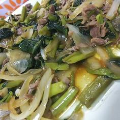 空芯菜【えんさい】の中華炒め