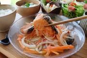 【揚げない】鮭の南蛮漬けの写真