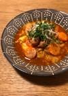 白菜と人参のトマトスープ