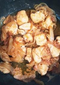 下味冷凍・胸肉ケチャップ生姜焼