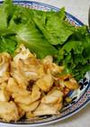 鱈のトマト炒め&茄子とミョウガの味噌汁