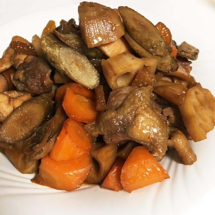 鶏肉と野菜の甘酢煮