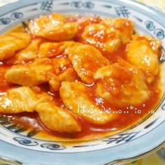 節約レシピ✴鶏胸肉でチリソース煮