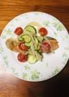 鮭のマリネ 野菜たっぷり