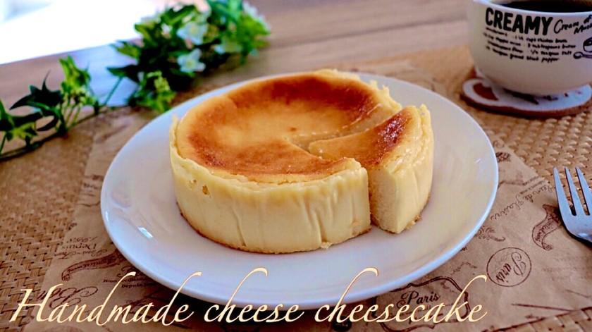 低コスト250円でチーズケーキ