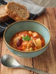 vol.12 冬野菜のミネストローネの写真