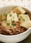 豚ばら肉の肉豆腐