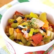 野菜たっぷり☆黒千石のラタトゥイユ