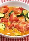 トマトとズッキーニの炒め物
