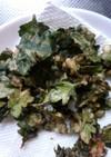 菊の葉の天ぷら