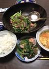 鮭のすっぱ醤油野菜炒め