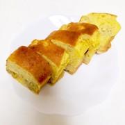 ホットケーキミックスバナナパウンドケーキの写真