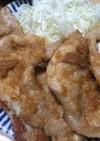 【基本】豚の生姜焼き