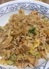 簡単・もやしと高野豆腐の白菜炒め