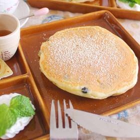黒千石入りきなこパンケーキ
