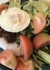 ピリ辛!生野菜でアジアンごはん