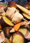 めんつゆで簡単旨し♡野菜と豚肉の煮物
