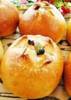 大豆ピューレのまんまる丸パン