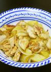 和風ポテト☆ささ身とジャガイモの塩麹炒め