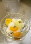 白玉フルーツポンチ
