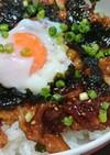 旨辛⭐豚バラ肉のスタミナ丼
