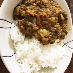キーマ風 夏野菜 カレー