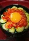 ☆簡単!美味しい♪納豆キムチ丼☆卵乗せ