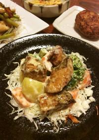 鮭のマヨネーズ炒め