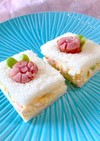 朝食に!ソーセージ花で可愛い玉子サンド