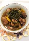 鶏レバーとニラの煮物