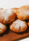 豆入りパン 自家製葡萄酵母を使って~♪
