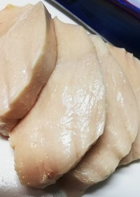 炊飯器で簡単低温調理!ブリブリの鶏むね肉